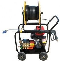 [흙사랑119] 동력고압세척기/모델명:SOL-E200-1/규격:가솔린엔진/유압호스2W*100(M)